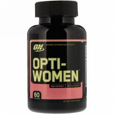 Optimum Nutrition, Opti-Women(オプティウーマン)、60粒