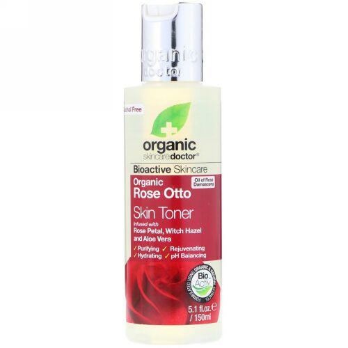 Organic Doctor, Organic Rose Otto Skin Toner, 5.1 fl oz (150 ml) (Discontinued Item)