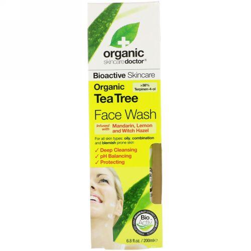 Organic Doctor, Organic Tea Tree Face Wash, 6.8 fl oz (200 ml) (Discontinued Item)