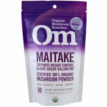 Organic Mushroom Nutrition, 舞茸, きのこ粉末, 3.57 oz (100 g) (Discontinued Item)
