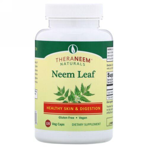 Organix South, TheraNeem Naturals, Neem Leaf, 120 Veg Caps