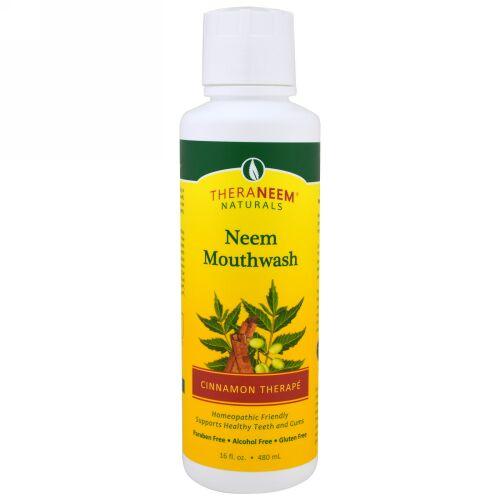 Organix South, TheraNeem Naturals, Cinnamon Therapé, Neem Mouthwash, 16 fl oz (480 ml) (Discontinued Item)