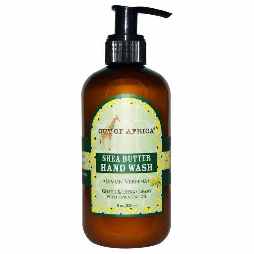 Out of Africa, Organic Shea Butter Hand Wash, Lemon Verbena, 8 fl oz (240 ml) (Discontinued Item)