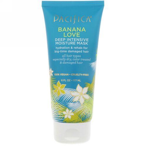 Pacifica, Banana Love Deep Intensive Moisture Mask, 6 fl oz (177 ml) (Discontinued Item)