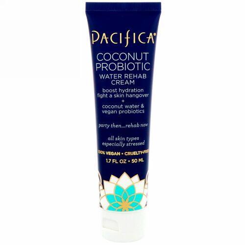 Pacifica, Coconut Probiotic Water Rehab Cream, 1.7 fl oz (50 ml)