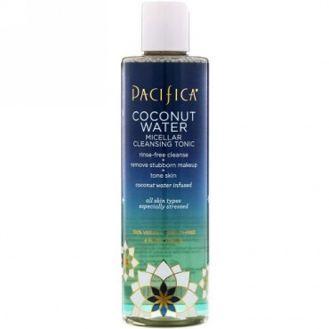 Pacifica, Coconut Water Micellar Cleansing Tonic, 8 fl oz (236 ml) (Discontinued Item)