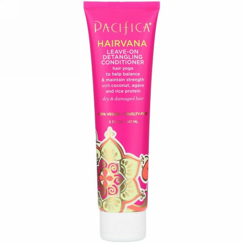 Pacifica, Hairvana Leave-On Detangling Conditioner, 5 fl oz (147 ml) (Discontinued Item)