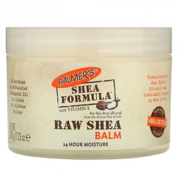 Palmer's, Shea Formula with Vitamin E, Raw Shea Balm, 7.25 oz (200 g)