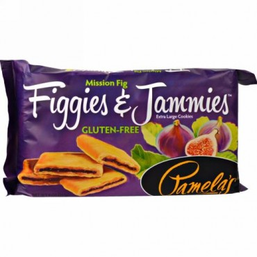 Pamela's Products, フィギーズ&ジャミーズ、特大クッキー、ミッションフィグ、9オンス(255g) (Discontinued Item)