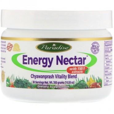 Paradise Herbs, エネルギーネクター、チャヴァナプラーシュ活力ブレンド、10.58オンス (300 g) (Discontinued Item)