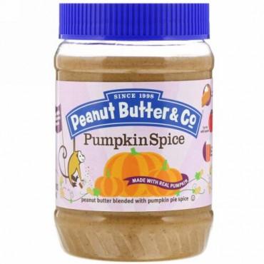 Peanut Butter & Co., パンプキンスパイス、ピーナッツバターをパンプキンパイスパイスとブレンド (454 g) (Discontinued Item)