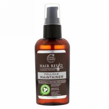 Petal Fresh, ヘアResQ、髪をふっくらさせるトリートメント、毛包維持セラム、2 fl oz (60 ml)