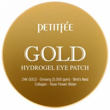 Petitfee, ゴールドハイドロジェルアイパッチ、60枚