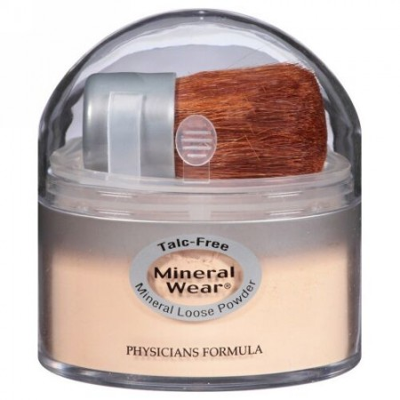 Physicians Formula, Mineral Wear, Loose Powder, SPF 16, Translucent Medium, 0.49 oz (14 g) (Discontinued Item)