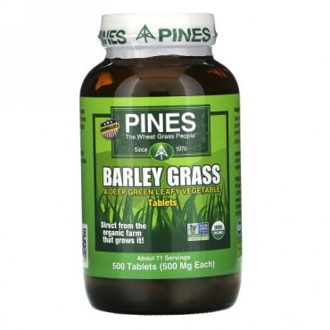 Pines International, バーリーグラス, 500錠
