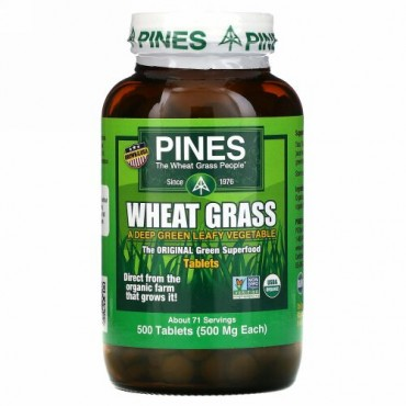 Pines International, Pines ヒメカモジグサ, 500 mg, 500 錠