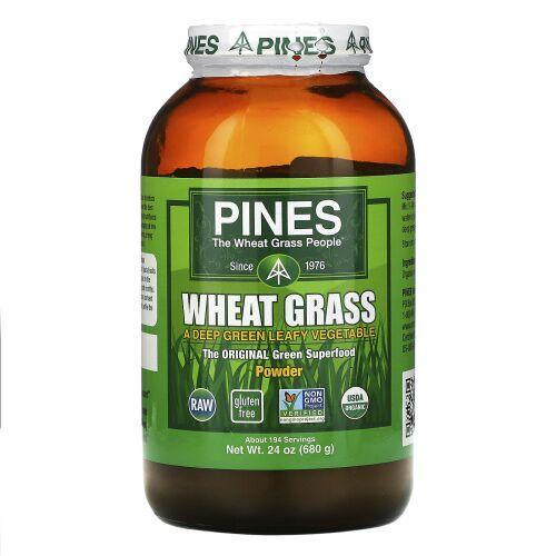 Pines International, パインズ・ウィートグラス、粉末、 24 oz (680 g)