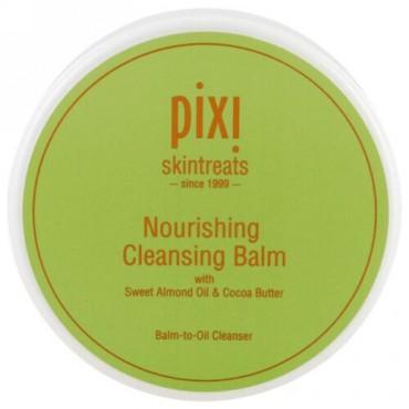 Pixi Beauty, ナリッシングクレンジングバーム, スイートアーモンドオイルとココアバターを配合, 3.04液量オンス (90 ml) (Discontinued Item)
