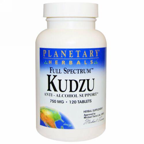 Planetary Herbals, Full Spectrum Kudzu、750mg, 120粒