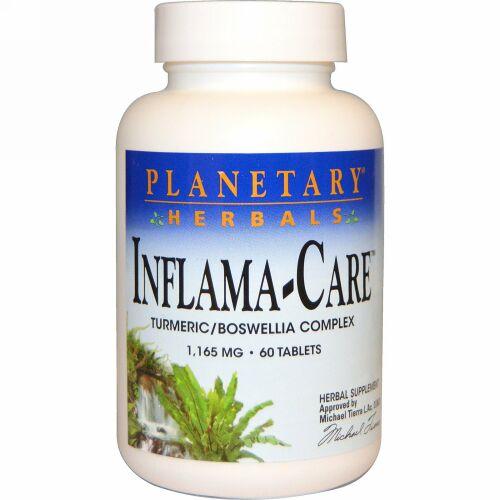 Planetary Herbals, Inflama-Care、 1,165 mg、タブレット60 錠