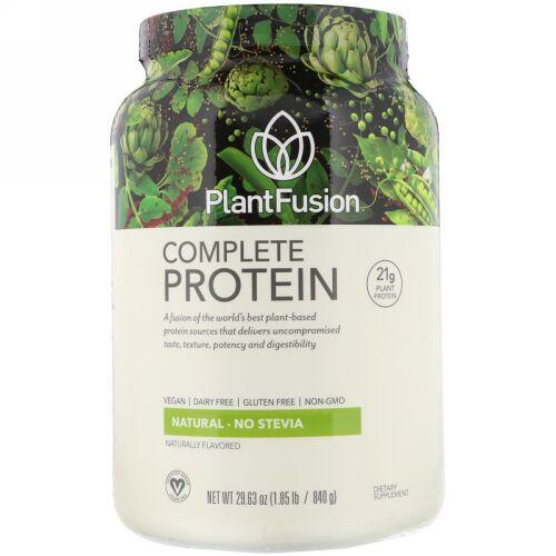PlantFusion, コンプリートプロテイン、ナチュラル、1.85ポンド(840 g)