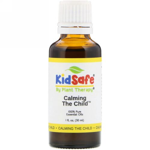 Plant Therapy, KidSafe, 100% Pure Essential Oil, Calming the Child, 1 fl oz (30 ml) (Discontinued Item)
