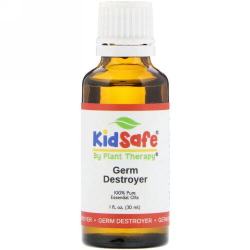 Plant Therapy, KidSafe, 100% Pure Essential Oil, Germ Destroyer, 1 fl oz (30 ml) (Discontinued Item)