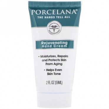 Porcelana, 肌が生き返るハンドクリーム、2 fl oz (59 ml) (Discontinued Item)