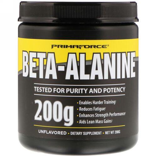 Primaforce, ベータアラニン、非着香、200 g