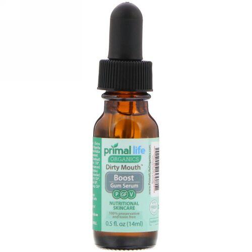 Primal Life Organics, ダーティマウスガムセラム、0.5 fl oz (14 ml) (Discontinued Item)