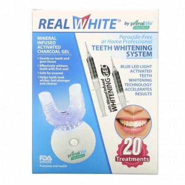 Primal Life Organics, 光活性による歯のホワイトニングシステム、過酸化物不使用、20回分