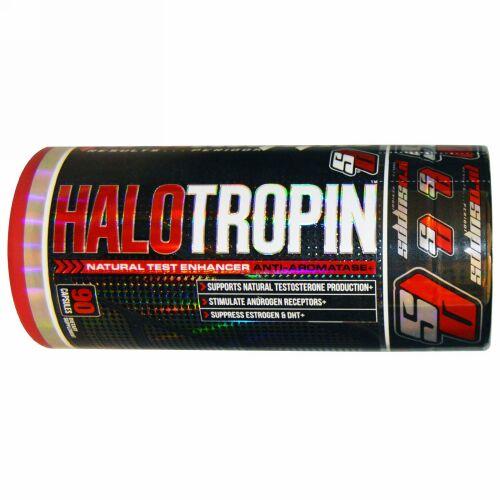ProSupps, Halo Tropin, 自然なテストステロン増強剤, 抗アロマターゼ, 90カプセル (Discontinued Item)