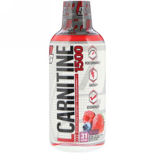 ProSupps, L-Carnitine 1500, Berry, 1,500 mg, 16 fl oz (473 ml)