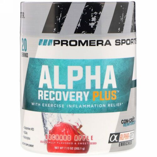 Promera Sports, アルファリカバリープラス、オーチャードアップル、7.13 oz (202.1 g) (Discontinued Item)