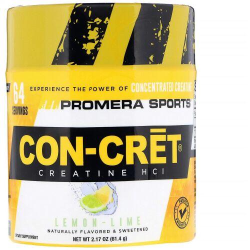 Promera Sports, コンクレットクレアチン、レモンライム、2.17 oz (61.4 g) (Discontinued Item)