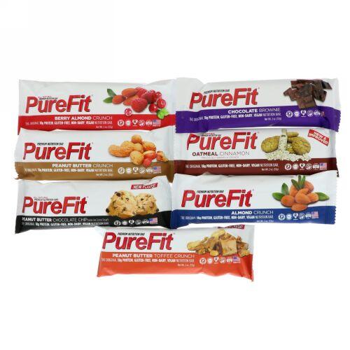 PureFit Bars, プレミアム栄養バー、サンプラー、7本、1本 57g(2 oz) (Discontinued Item)