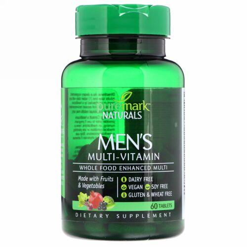 PureMark Naturals, メンズマルチビタミン, 60錠