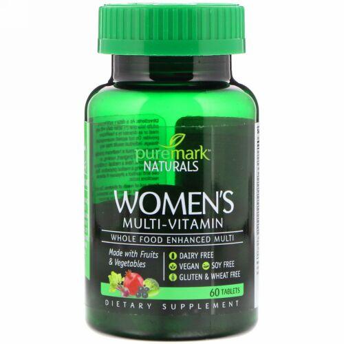 PureMark Naturals, ウーマンズマルチビタミン, 60錠