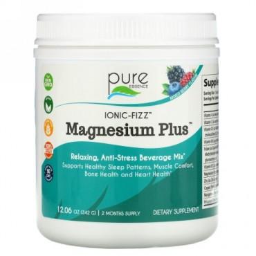 Pure Essence, Ionic-Fizz(イオニックフィズ)、Magnesium Plus(マグネシウムプラス)、ミックスベリー、342g(12.06オンス)