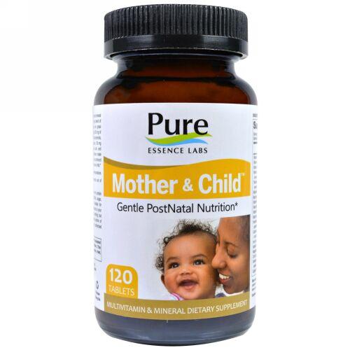 Pure Essence, Mother & Child, Master PostNatal Formula, 120 Tablets