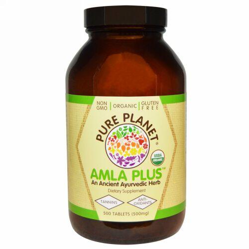 Pure Planet, アムラプラス(Amla Plus), 500 mg, 500錠(500 mg)