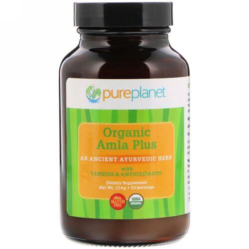 Pure Planet, オーガニックアムラプラス(Organic Amla Plus), 114 g (Discontinued Item)
