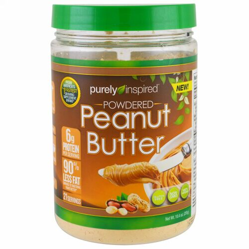 Purely Inspired, Powdered Peanut Butter, 10.4 oz (295 g) (Discontinued Item)