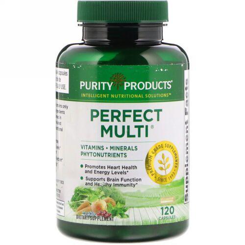 Purity Products, パーフェクトマルチ, 120カプセル