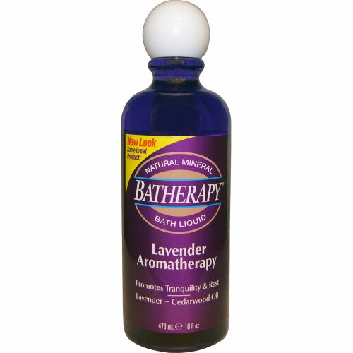 Queen Helene, Batherapy バスリキッド、ラベンダー・アロマセラピー、16液量オンス (473 ml) (Discontinued Item)