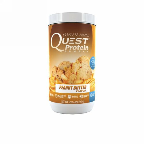 Quest Nutrition, Protein Powder, Peanut Butter, 32 oz (907 g) (Discontinued Item)