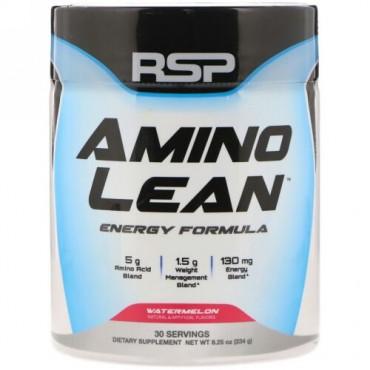 RSP Nutrition, AminoLean, Energy Formula, Watermelon, 8.25 oz (234 g) (Discontinued Item)