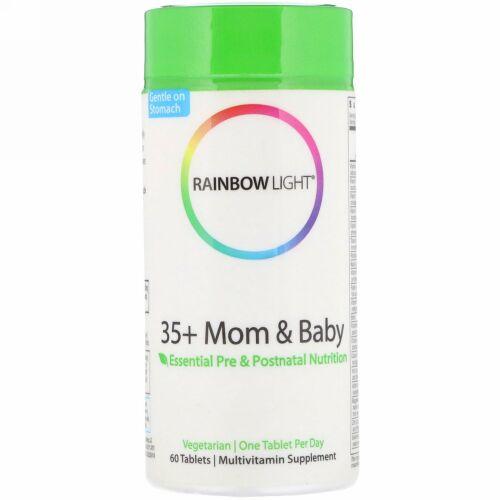 Rainbow Light, 35+ ママ&ベビー, 60錠