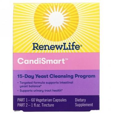 Renew Life, CandiSmart, 15-Day Yeast Cleansing Program, 2 Part Program