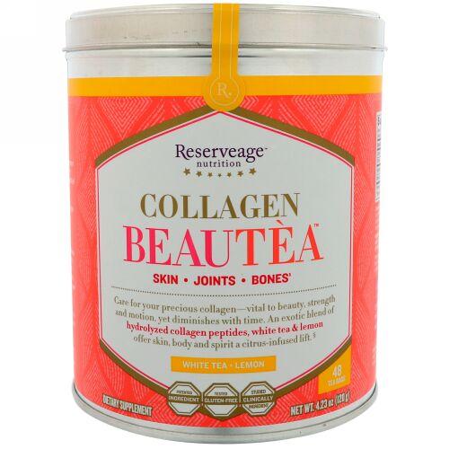 ReserveAge Nutrition, Collagen Beautea, White Tea + Lemon Flavor, 48 Tea Bags (Discontinued Item)